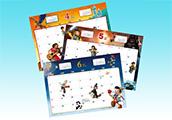 ディズニーの新たなプリンセスやピノキオも♪大好評オリジナルカレンダー!