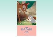 1月〜3月まで毎月楽しめる♪かわいいバンビのカレンダー付き待ち受け★