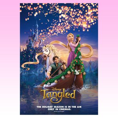クリスマスにぴったり!全米映画公開時の美しいポスター画像
