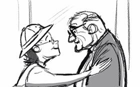 『カールじいさんの空飛ぶ家』未公開シーン:結婚生活