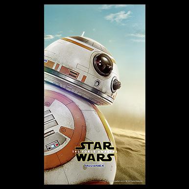 『フォースの覚醒』スマホ待ち受け画像ダウンロード!<BB-8>