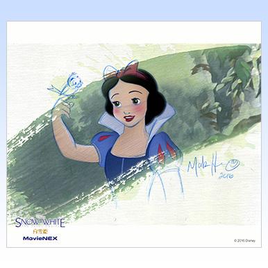 """マーク・ヘンが描いた""""白雪姫""""の美しいアートをダウンロード!"""