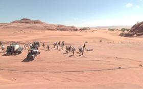 特別映像:砂漠での撮影