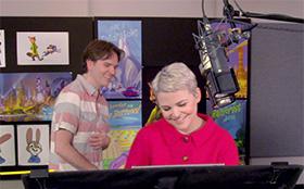 限定映像:『ズートピア』 を躍動させるアメリカの声優たち