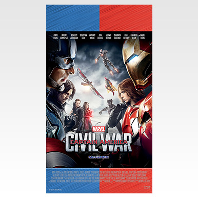 スマホ壁紙:『シビル・ウォー/キャプテン・アメリカ』「チーム・バトル」アート