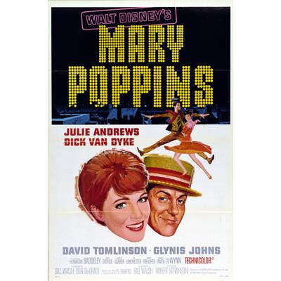 『メリー・ポピンズ』アメリカ初公開時の劇場ポスターをダウンロードしよう!