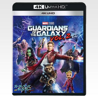 4K UHD ブルーレイ 『ガーディアンズ・オブ・ギャラクシー:リミックス』購入