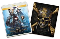 オンライン数量限定商品:パイレーツ・オブ・カリビアン/最後の海賊 MovieNEXプラス3Dスチールブック